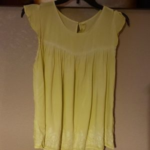 Girls Yellow Blouse